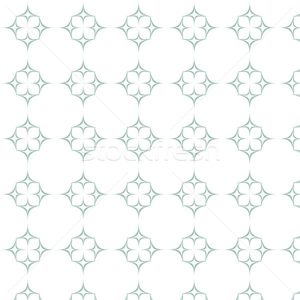 vector seamless pattern curve geometric background Stock photo © Kheat