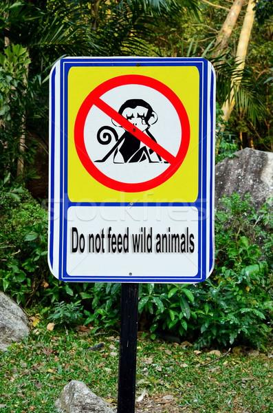 不 野生動物 簽署 商業照片 © Kheat