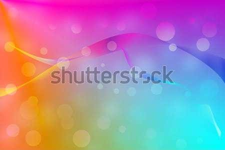 Színes absztrakt vonalak izzó textúra háttér Stock fotó © Kheat