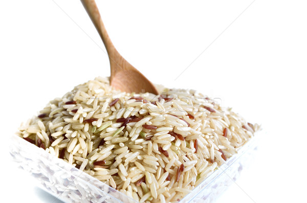mix rice Stock photo © Kheat