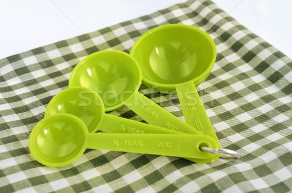 Measuring spoon set Stock photo © Kheat