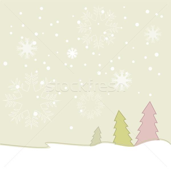 Beautiful Christmas background Stock photo © Kheat