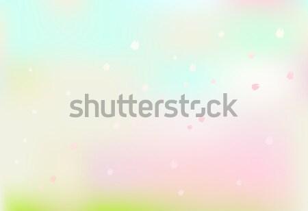 Rosa pétalas floral flutuante colorido abstrato Foto stock © Kheat