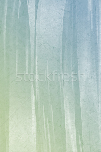 Blue and green gradient color abstract painting texture backgrou Stock photo © Kheat