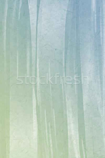 Kék zöld gradiens szín absztrakt festmény Stock fotó © Kheat