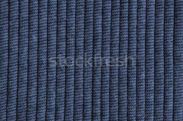青 ウール テクスチャ ファッション ファブリック ストックフォト © Kheat