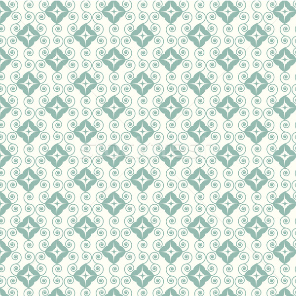 abstract seamless pattern lines curve vector Stock photo © Kheat