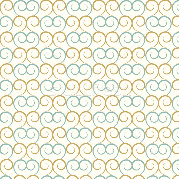 vector seamless pattern curve and wavy Stock photo © Kheat
