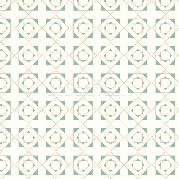 Vektor végtelenített mértani csempék minta terv Stock fotó © Kheat