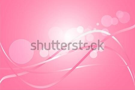 Rózsaszín absztrakt szín görbe vektor fény Stock fotó © Kheat