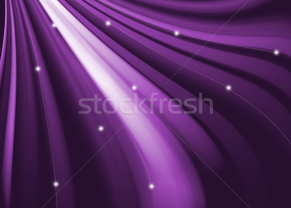 Paars abstract golvend curve textuur business Stockfoto © Kheat