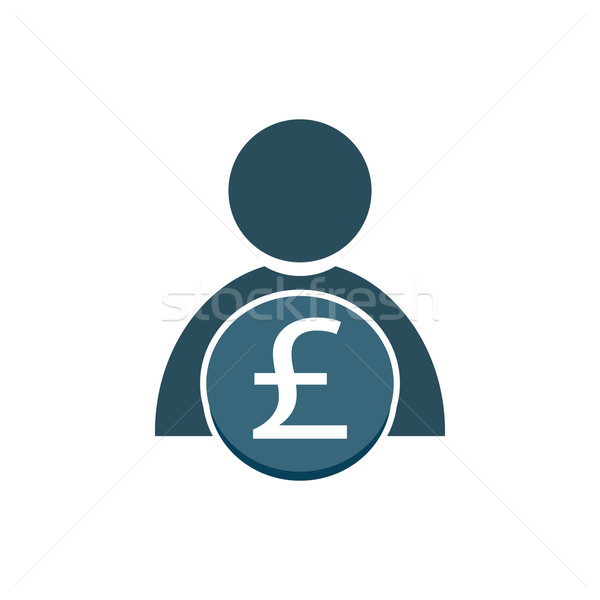 people with money icon Stock photo © Kheat