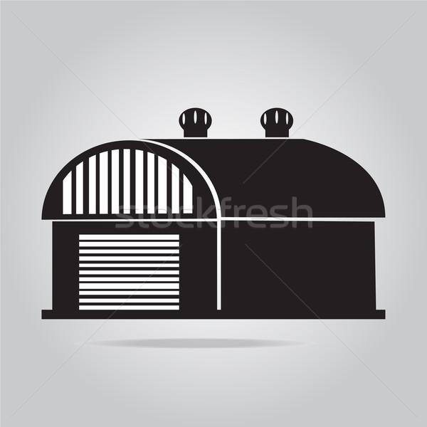 建物 アイコン 納屋 倉庫 実例 ファーム ストックフォト © Kheat