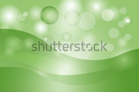 Abstrato curva linha verde textura fundo Foto stock © Kheat