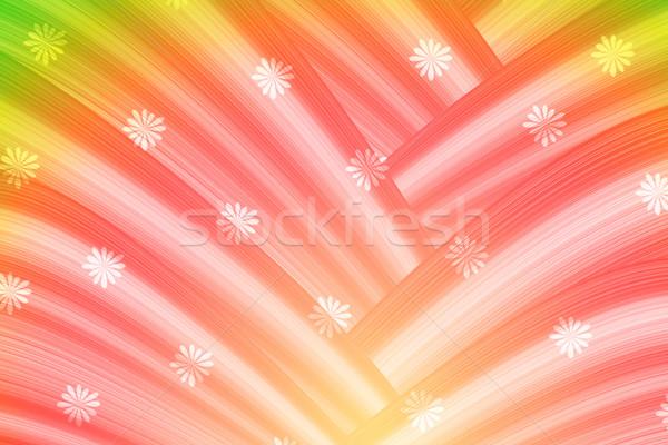 Színes absztrakt görbe textúra terv művészet Stock fotó © Kheat