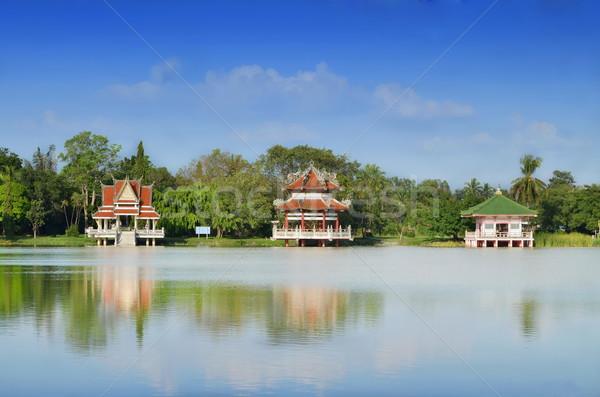 3  スタイル 公園 アジア アジア 構造 ストックフォト © Kheat
