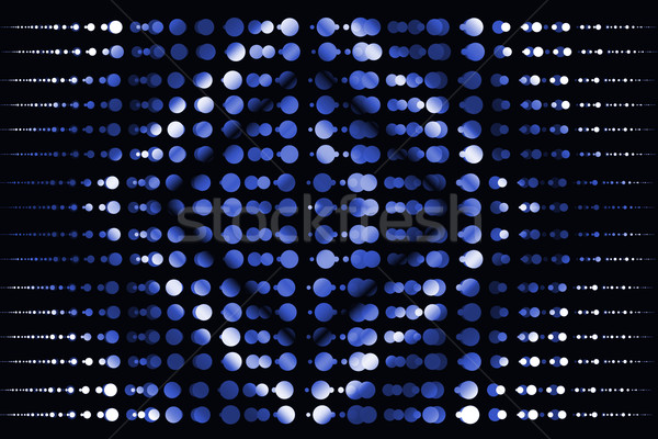 Bleu résumé cercle sombre fond wallpaper Photo stock © Kheat