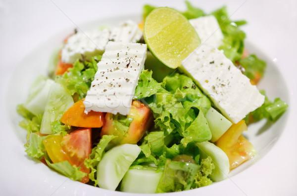 サラダ フェタチーズ チーズ 食べ 料理 ストックフォト © Kheat