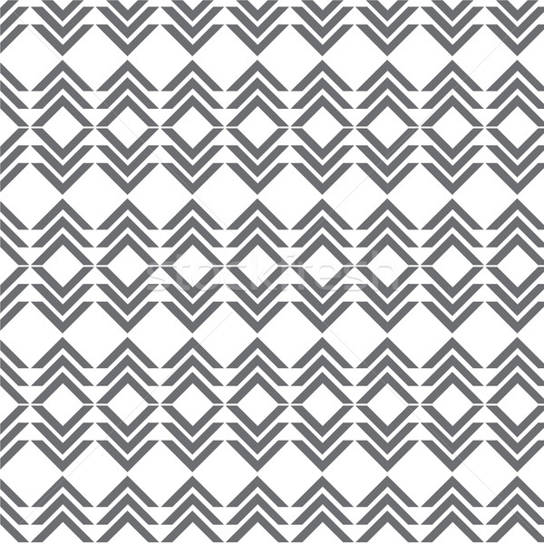 vector seamless gray pattern geometrical Stock photo © Kheat