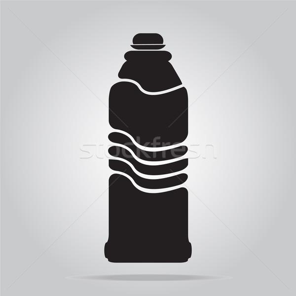 ボトル アイコン 実例 水 ガラス ドリンク ストックフォト © Kheat