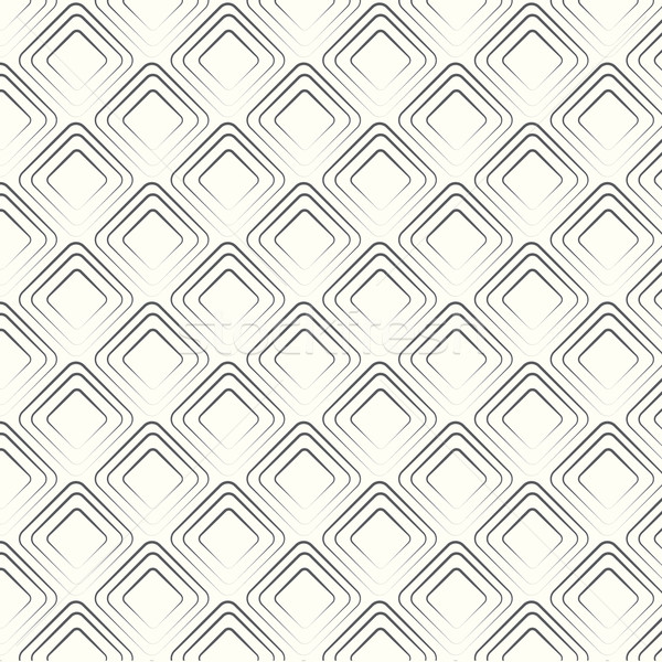 vector seamless pattern geometric tiles rhombus background Stock photo © Kheat