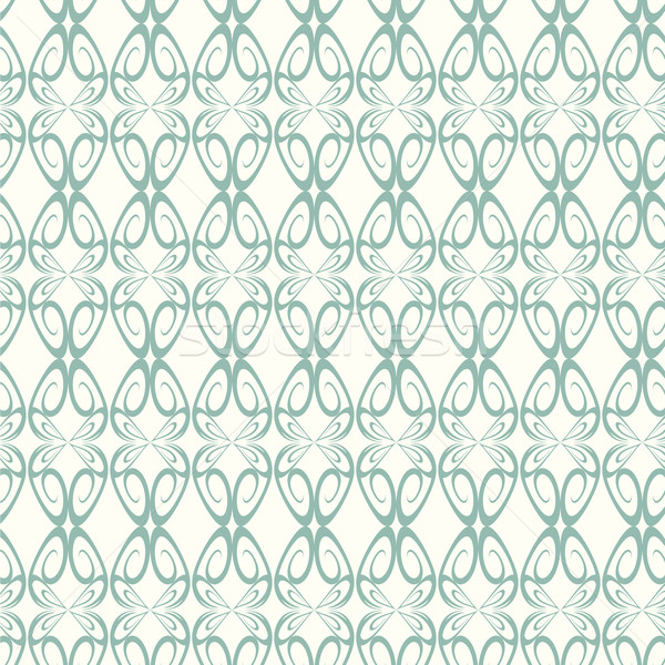 seamless pattern lines curve vector background Stock photo © Kheat