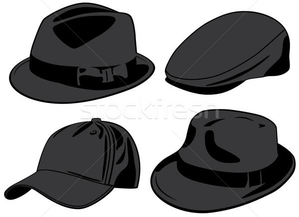 Dizayn beysbol siyah elbise çizim Stok fotoğraf © khvost