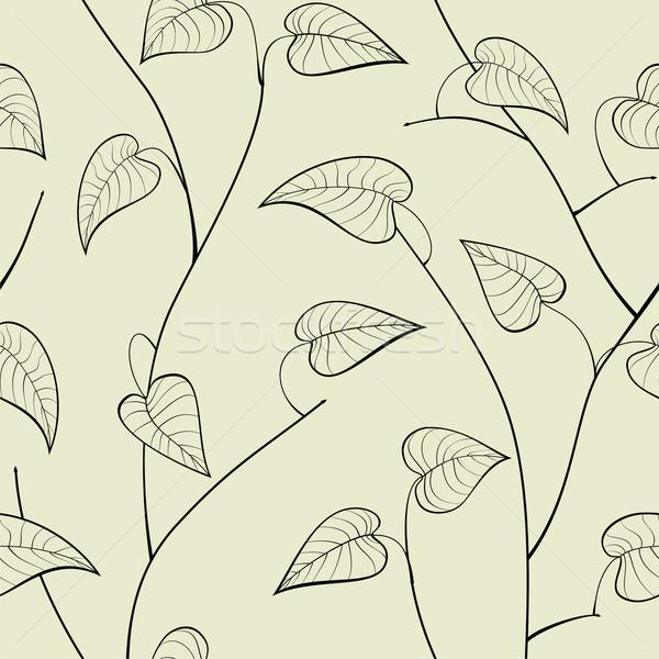 Foglia sfondo wallpaper impianto bella Foto d'archivio © khvost