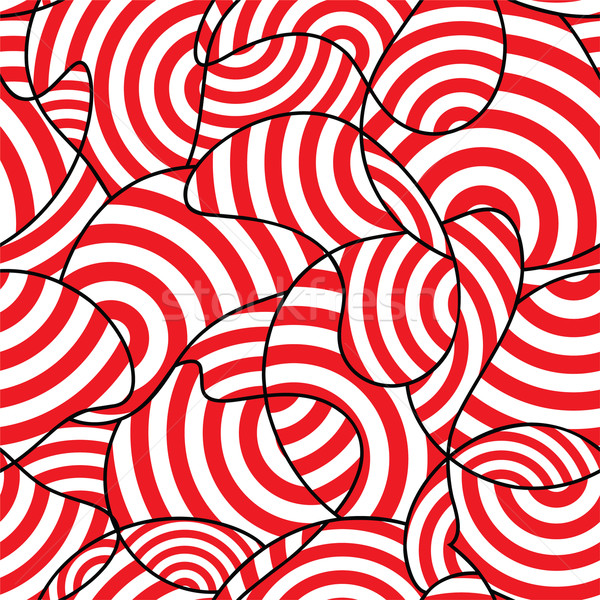 Abstract design tessuto rosso piastrelle Foto d'archivio © khvost