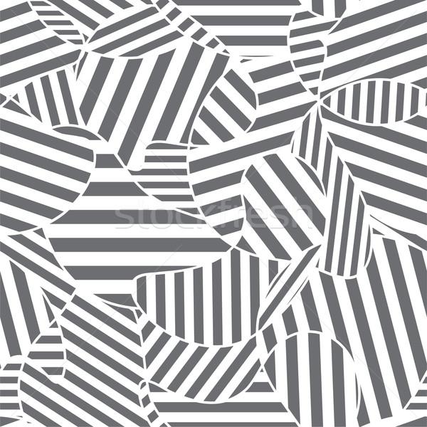 Abstract design tessuto line vettore Foto d'archivio © khvost