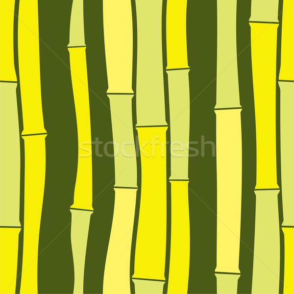 Bambu doku soyut arka plan sanat Stok fotoğraf © khvost