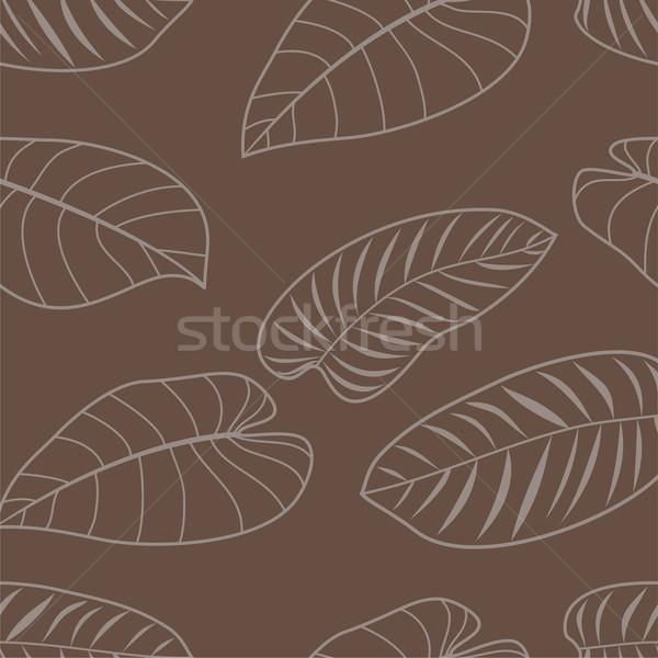 抽象的な 芸術 壁紙 工場 美しい ストックフォト © khvost