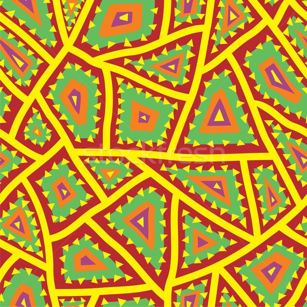 Soyut sanat kumaş kırmızı grafik Stok fotoğraf © khvost