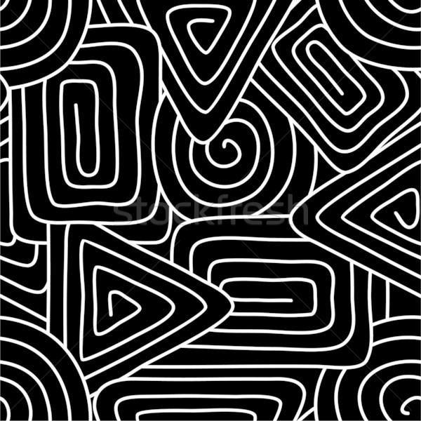 Geometrica abstract arte tessuto bella Foto d'archivio © khvost