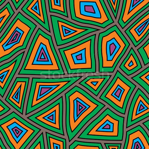 аннотация искусства ткань красный графических Сток-фото © khvost