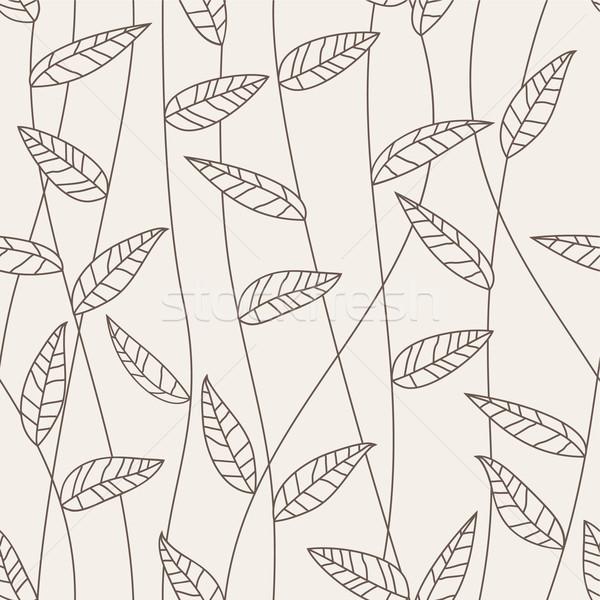 Doku bahar soyut yaprak sanat Stok fotoğraf © khvost