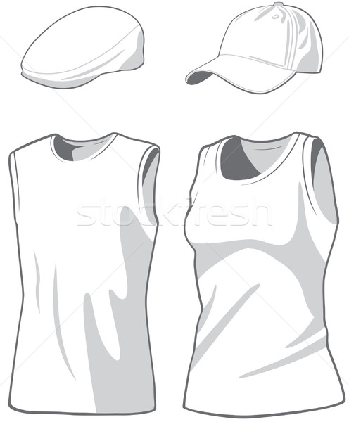 Donna uomo moda corpo design Foto d'archivio © khvost