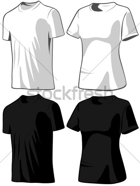 Moda dizayn alışveriş giyim üst malzeme Stok fotoğraf © khvost