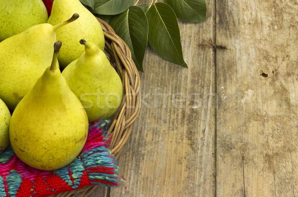 Fresh, juicy pears Stock photo © Kidza