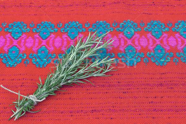 świeże rozmaryn herb tekstury żywności Zdjęcia stock © Kidza