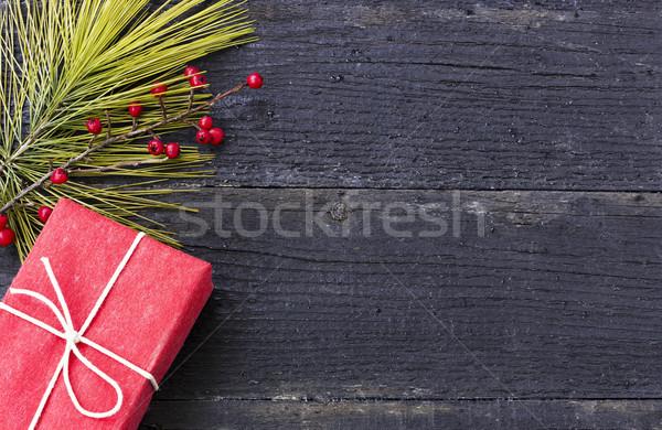 時間 クリスマス 装飾 贈り物 緑 レトロな ストックフォト © Kidza