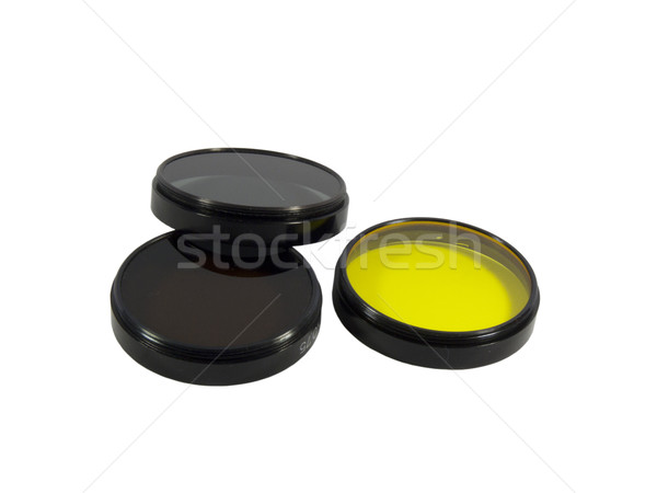 Filters for lenses Stock photo © Kidza