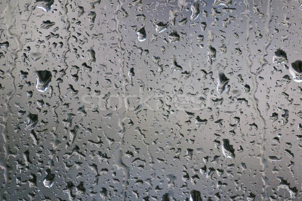 雨 値下がり 窓 近い 抽象的な 背景 ストックフォト © Kidza