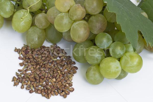 ブドウ 種子 白 フルーツ 薬 つる ストックフォト © Kidza