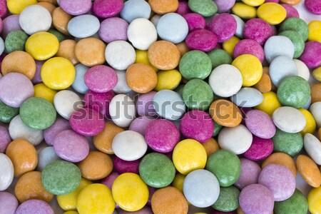 Színes édes cukor csoport desszert gomb Stock fotó © Kidza