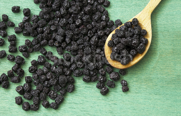 Dried chokeberry (aronia berry)  Stock photo © Kidza