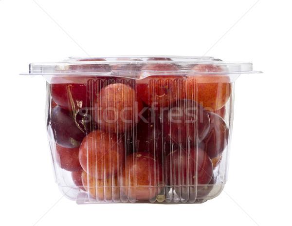 фрукты пластиковых Pack свежие прозрачный Сток-фото © Kidza
