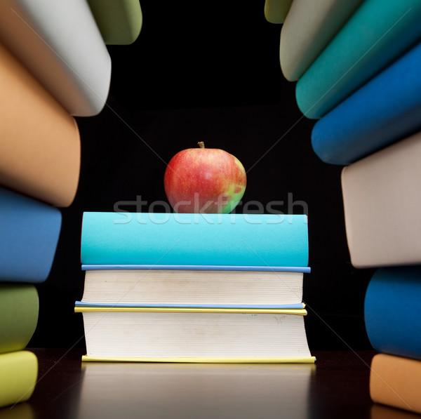 Bildung Studie Pfund Text Lernen Gebäude Stock foto © kikkerdirk