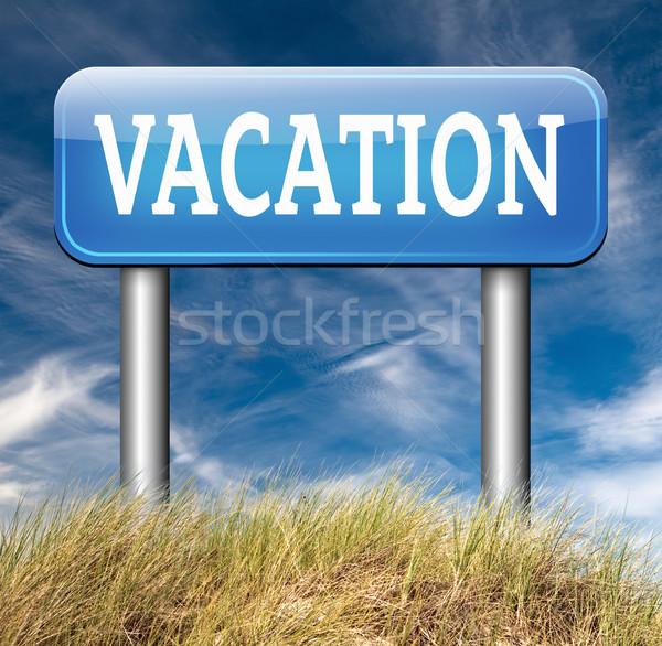 vacation Stock photo © kikkerdirk