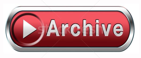Archívum gomb nagy digitális adattárolás személyes Stock fotó © kikkerdirk